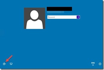 free method to recover windows 10 password screen shot  login screen
